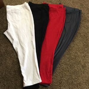 Faded Glory Women's Jeggings Pants Plus Size 4X